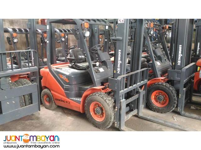 Diesel LG25DT Lonking  2.5Tons Brand new Forklift