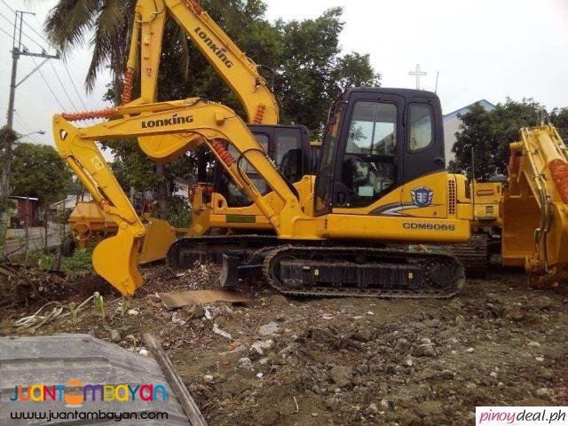 CDM6065 Hydraulic Excavator Yanmar Engine