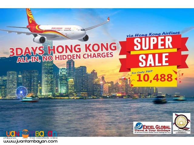 ALL-IN HONG KONG SUPER SALE!!!