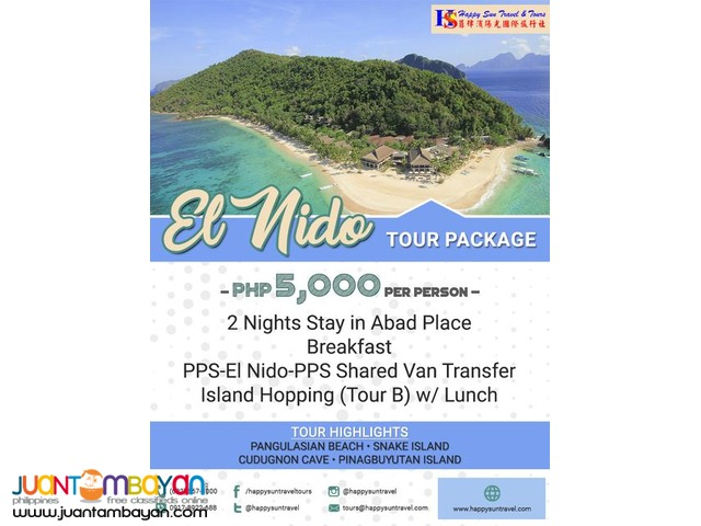 3D2N Amazing El Nido Package
