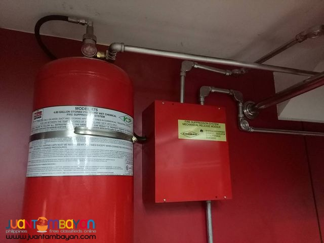Fire Suppression Supply and Installation Bulacan