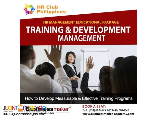 Training and Development Management