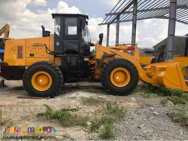 LONGKING WHEEL LOADER CDM843 2.5 CUBIC