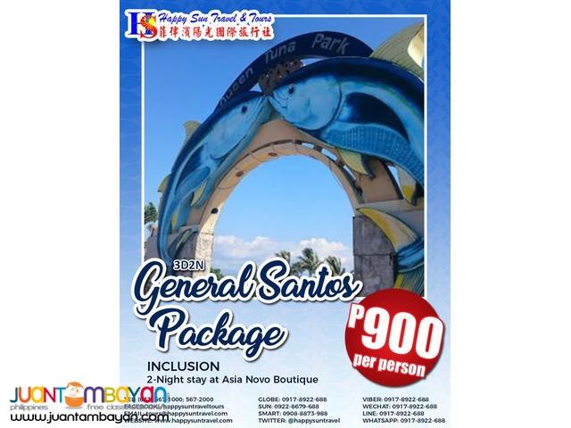 3D2N General Santos Package