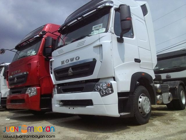 Euro IV HOWO-A7 Tractor Head 380HP 6wheeler Sinotruk