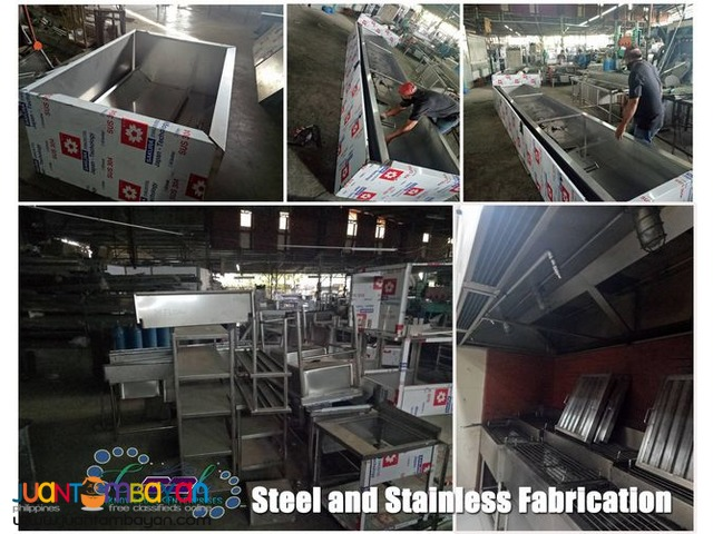 Steel and Stainless Fabrication Bulacan and nearby provinces