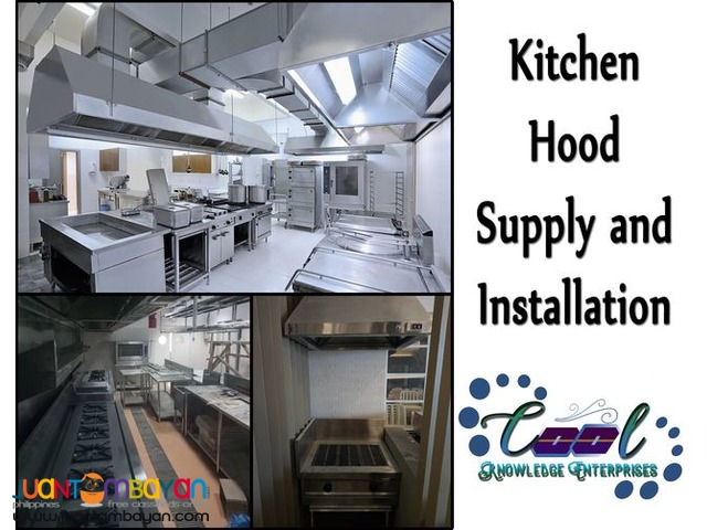Kitchen Hood Supply and Installation