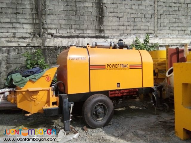 Portable Concrete Pump 30meters and 60meters for sale
