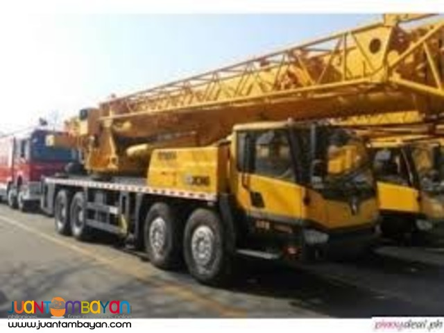 QY50B.5 TRUCK MOUNTED CRANE XCMG (55TONS)