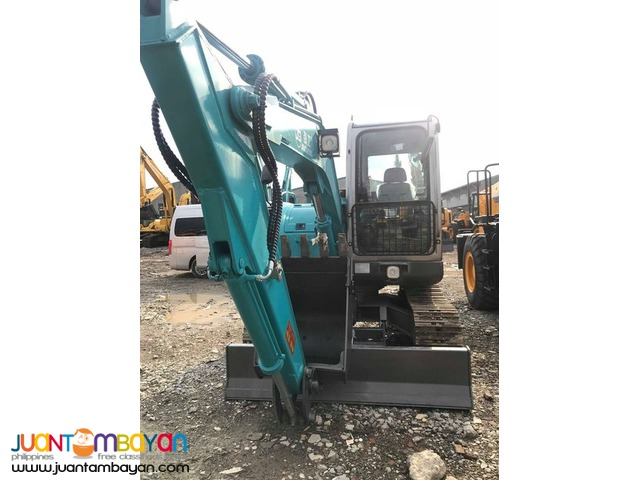 BACKHOE EXCAVATOR JG608 CHAIN TYPE 0.3 CUBIC