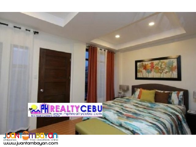 FULLY-FURNISHED HOUSE AT WOODWAY TOWNHOMES POOC TALISAY, CEBU