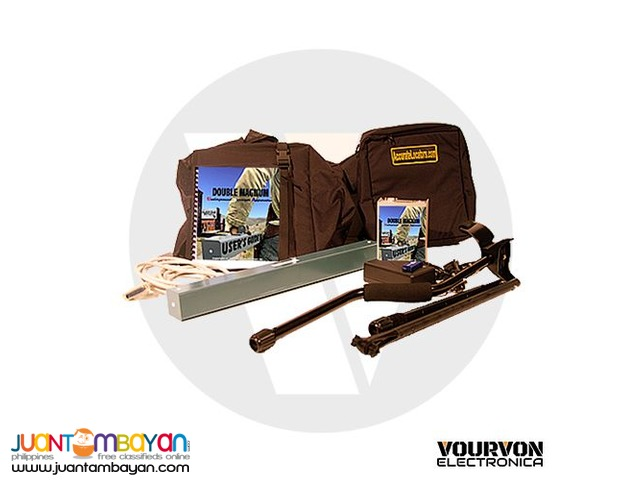 USA Double Magnum Plus - Gold Scanner and Metal Scanner