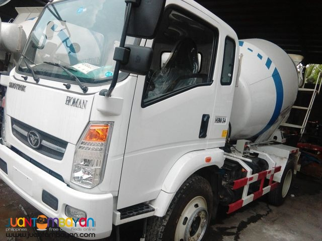 6 Wheeler Transit Mixer Truck 4m³, 130HP (Yuchai Engine)