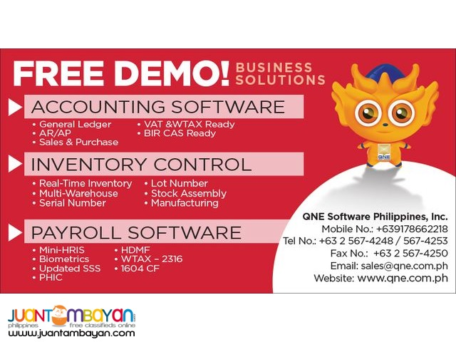 QNE Payroll System-Human Resource and Information Software