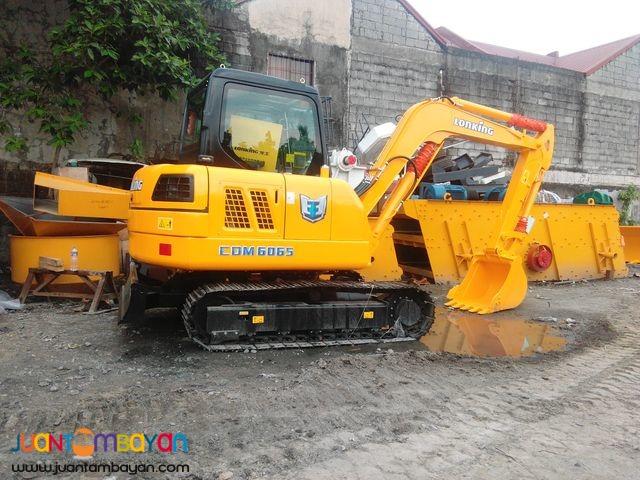 CDM6065 Lonking Hydraulic Excavator Brand new 1/4 Bucket Size