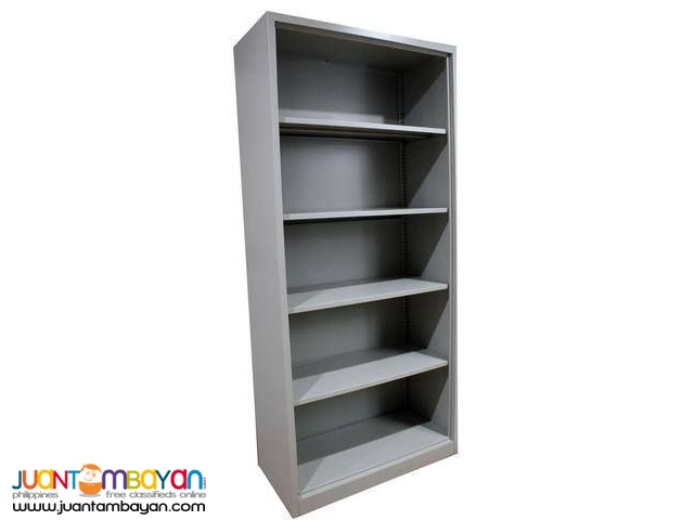 Open Steel Storage Cabinet