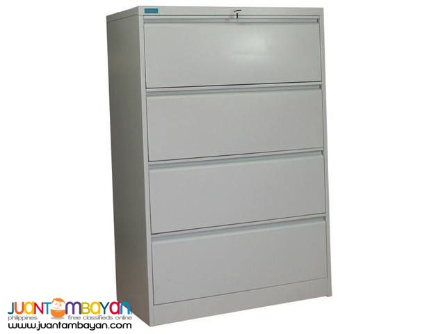 Lateral Filing Cabinet, 4 Drawers