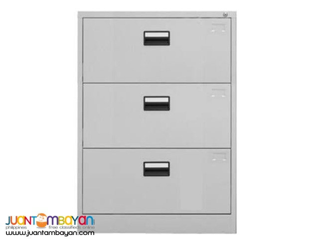 Lateral Filing Cabinet, 3 Drawers