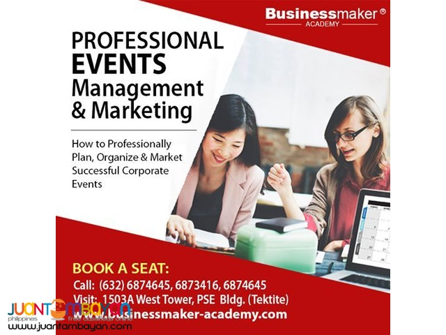 Professional Events Management & Marketing