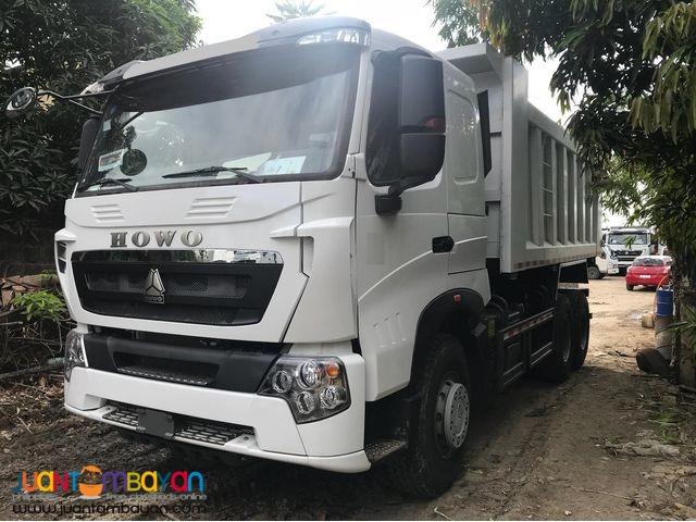 Brand New Howo A7 Euro 4 Dump Truck 10 Wheeler 20cubic 380 hp