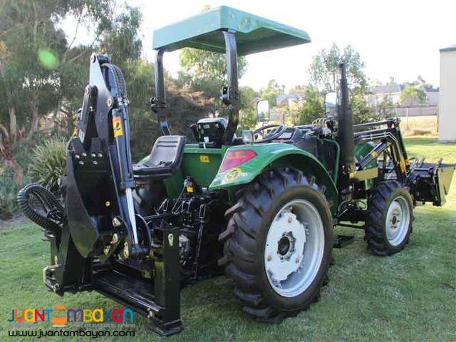 D.E Farm Tractor 0.23cubic Backhoe Loader