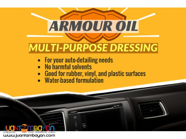 Auto-detailing Car Shampoo Degreaser Tire Black Armor Oil