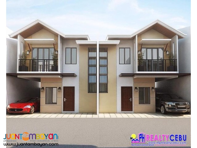 3BR Duplex House For Sale at Anika Homes in Cebu City