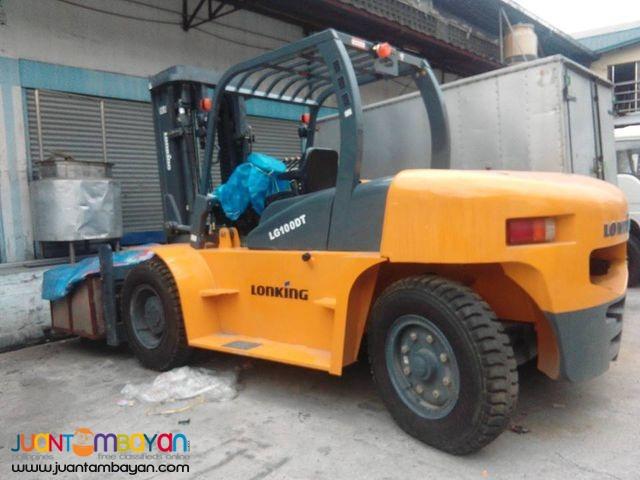 LG100DT Diesel Brand new Forklift