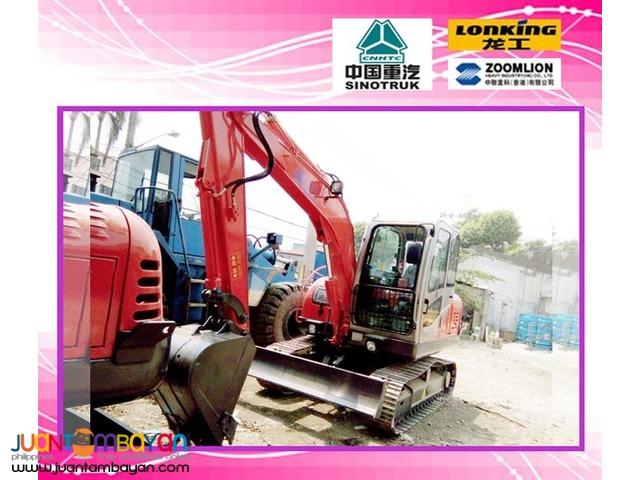 Jinggong JG80 Hydraulic Brand new Excavator Chain Type