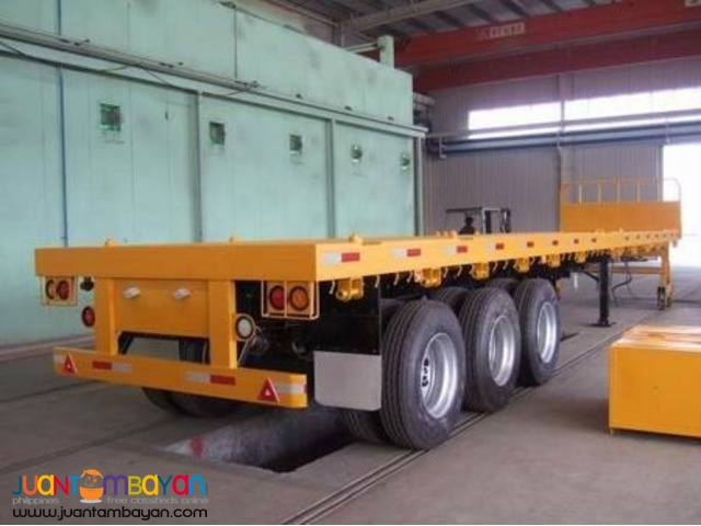 (40ft.)Flatbed w/out sidings