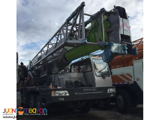 QY55 Mounted Crane Truck