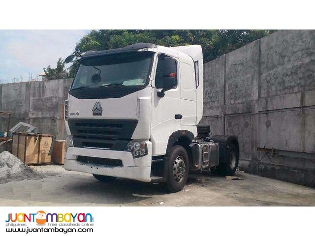 howo-a7 6w 380hp tractorhead