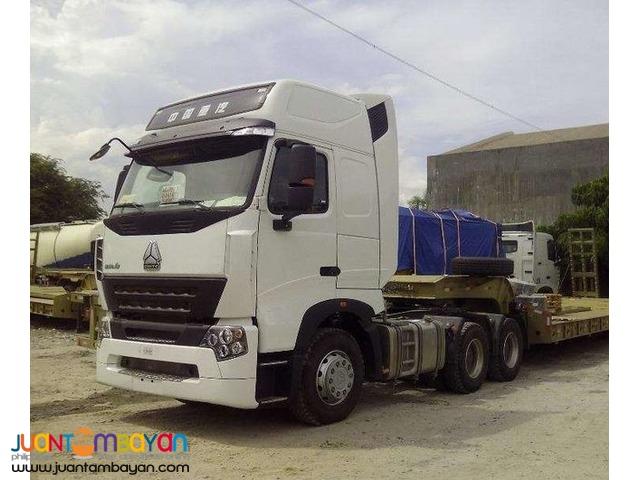 howo-a7 10w 420hp tractorhead
