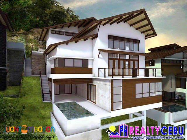 MODEL B - LUXURY HOUSE FOR SALE THE PEAKS MONTERRAZAS DE CEBU