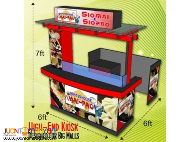 Food Kiosk Cart Booth Maker