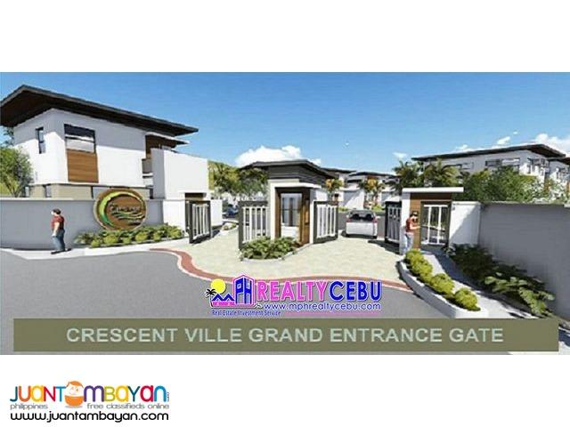 FOR SALE 3 BR TOWNHOUSE AT CRESCENT VILLE MANDAUE CITY, CEBU