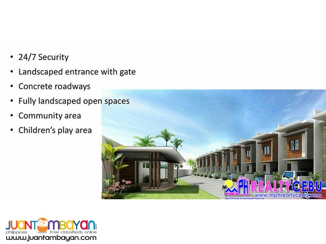 FOR SALE 2BR TOWNHOUSE AT SUNHERA RESIDENCES TALAMBAN CEBU CITY