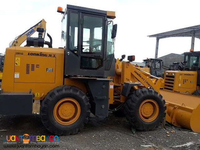 Lonking Brand new CDM816 Wheel Loader 1cbm Bucket Size