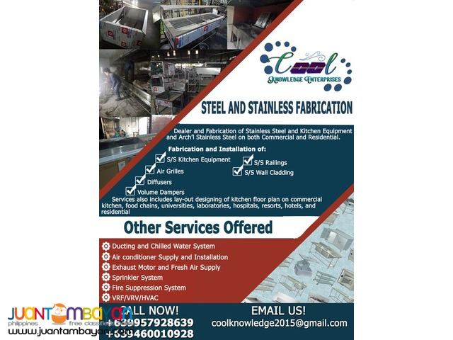Steel and Stainless Fabrication