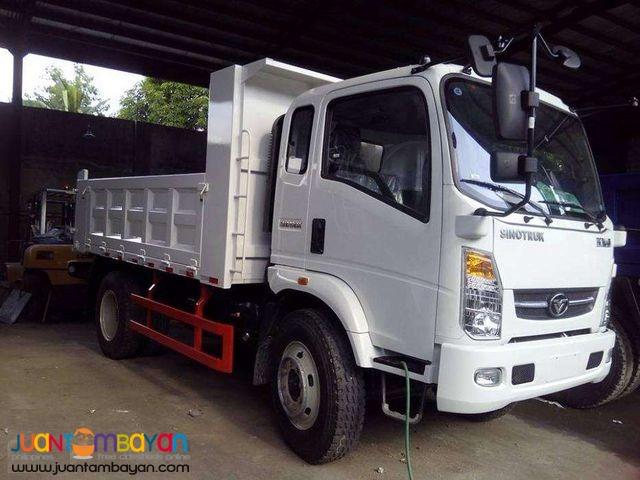Homan Dump truck 6.5cubic Sinotruk 6 wheeler
