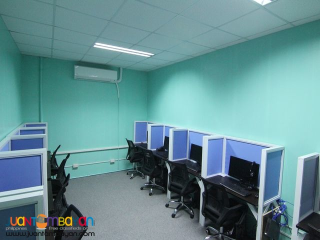 Office Set-up for BPO Seat Lease with BPOSeats.com