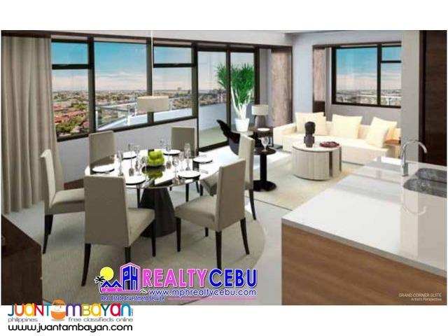 3BR 134m² GRAND CORNER SUITE CONDO UNIT AT THE ALCOVES CEBU CITY