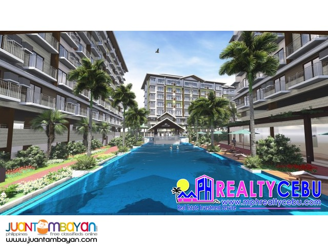 1 BR 39 m² CONDO UNIT AT AMANI GRAND RESORT CONDO LAPU-LAPU CEBU