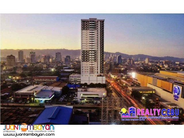 22 m² STUDIO TYPE CONDO UNIT AT SUNVIDA TOWER CEBU CITY