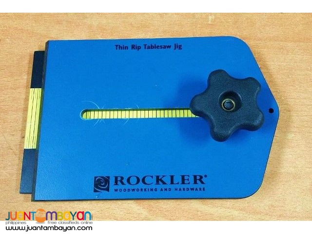 Rockler 36833 Thin Rip Tablesaw Jig
