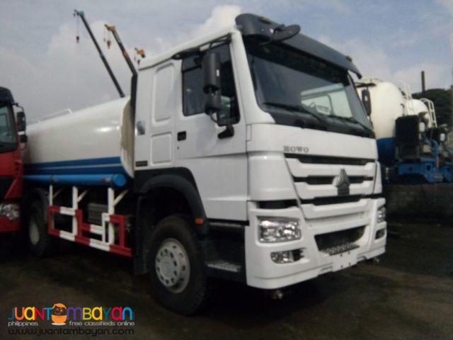 Euro IV HOWO Water truck 20KL Sinotruk 10wheeler