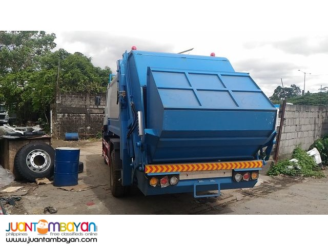 Homan Garbage Compactor 8cubic 6wheeler Sinotruk