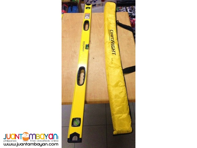 CraftRight 1200mm Spirit Level with Carry Bag