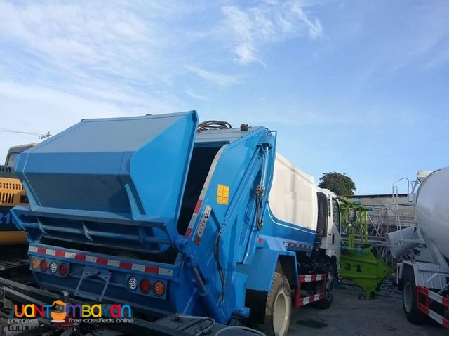 homan sinotruk h5 Euro4 5cubic 140hp Garbage Truck For Sale