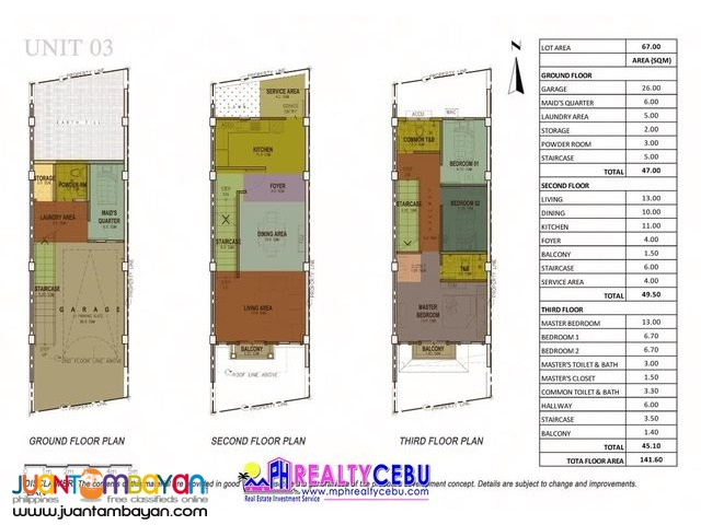 LOU 88 Manor in Cebu City | 4BR Townhouse for Sale